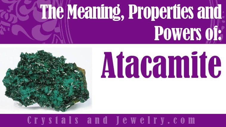 atacamite meaning properties powers