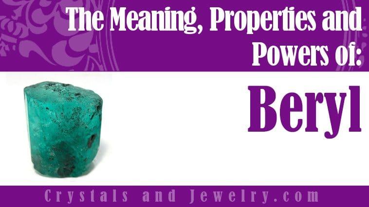 beryl properties and powers