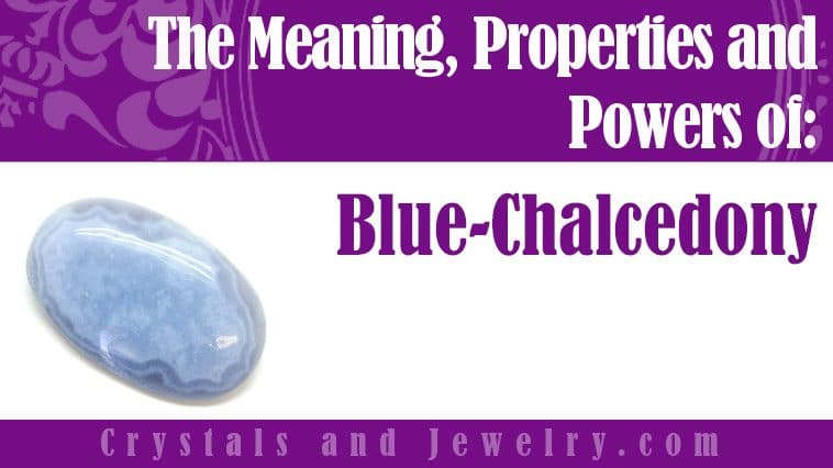 Blue Chalcedony for protection
