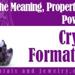Crystal Formations jewelry