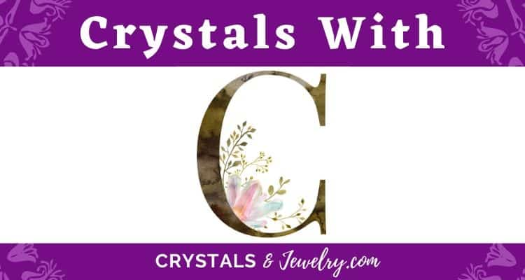 Crystals with C