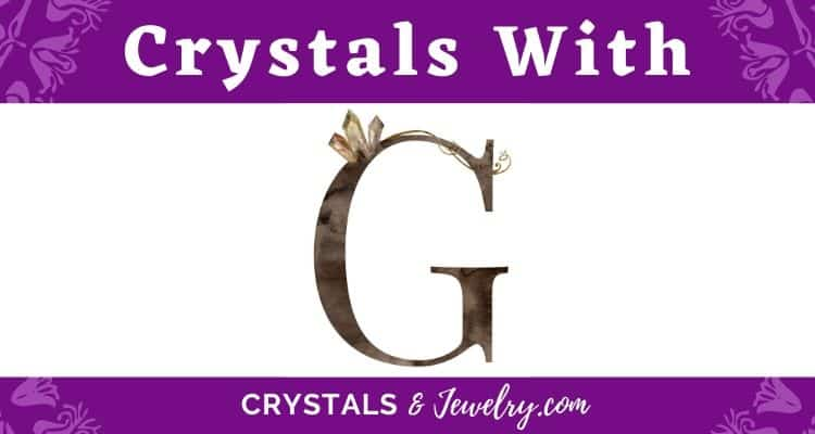 Crystals with G