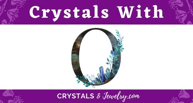 Crystals with O