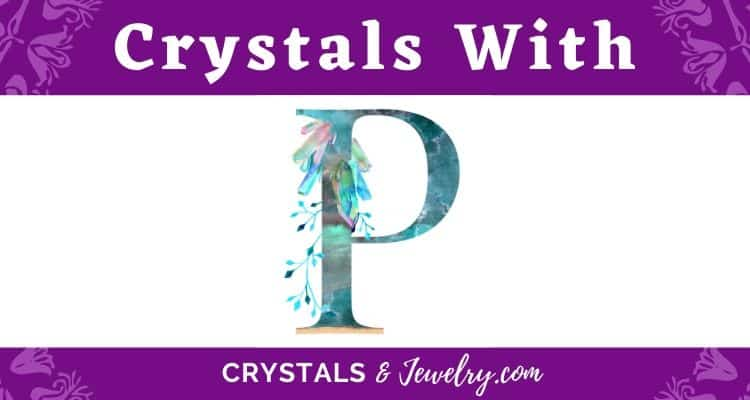 Crystals with P