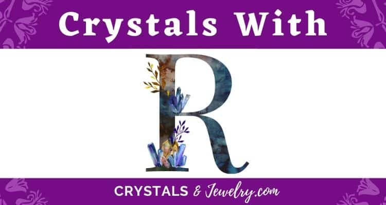 Crystals with R