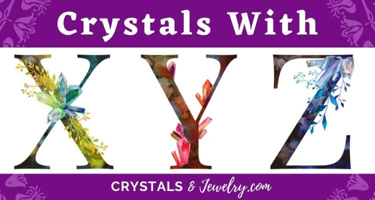 Crystals with XYZ