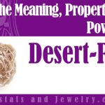 Desert Rose jewelry