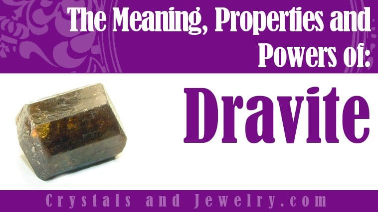 Dravite for luck and wealth