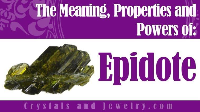 How to use Epidote?