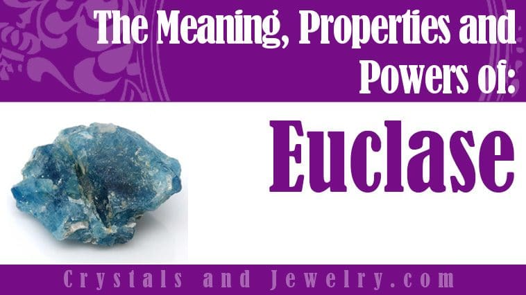Euclase for luck and wealth