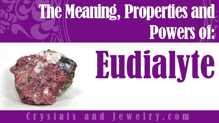Eudialyte for protection