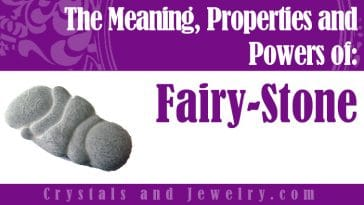 Fairy Stone for luck and wealth