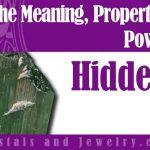 Hiddenite for love
