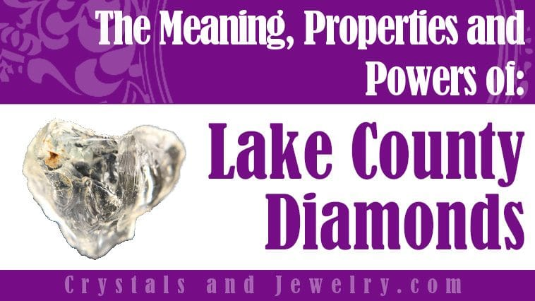 Lake County Diamonds for love