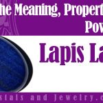 Lapis Lazuli is powerful