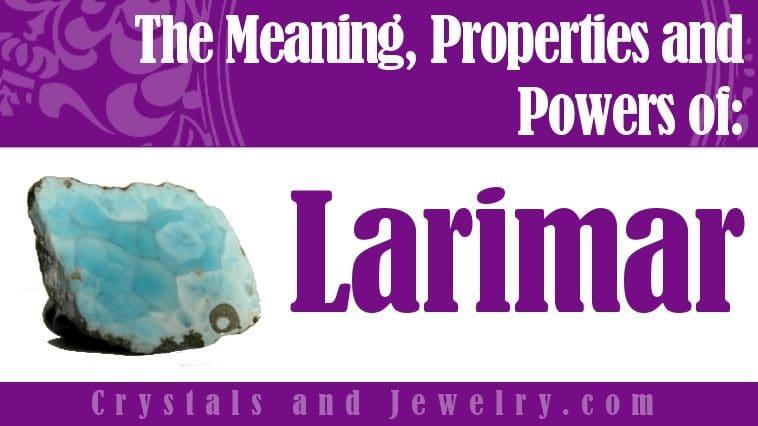 Is Larimar Lucky?