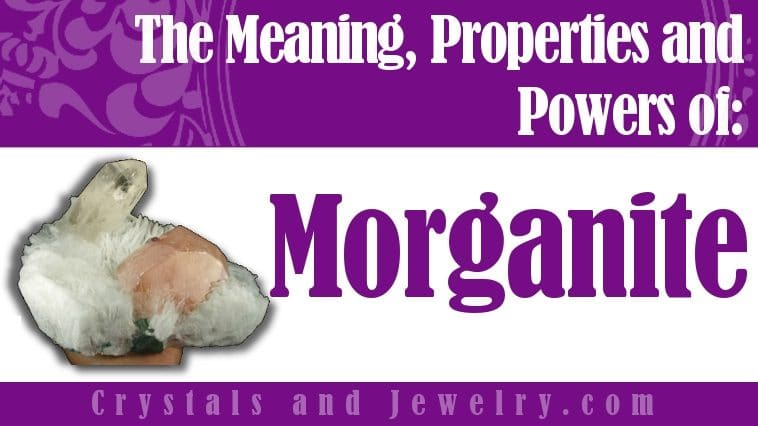 Morganite for luck and wealth