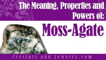 Moss Agate properties and powers