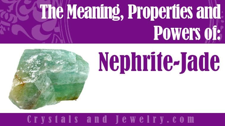 Nephrite Jade for luck and wealth
