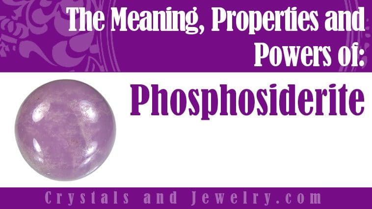 The meaning of Phosphosiderite