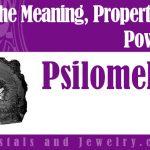 Psilomelane for protection