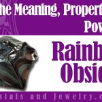 Rainbow Obsidian jewelry