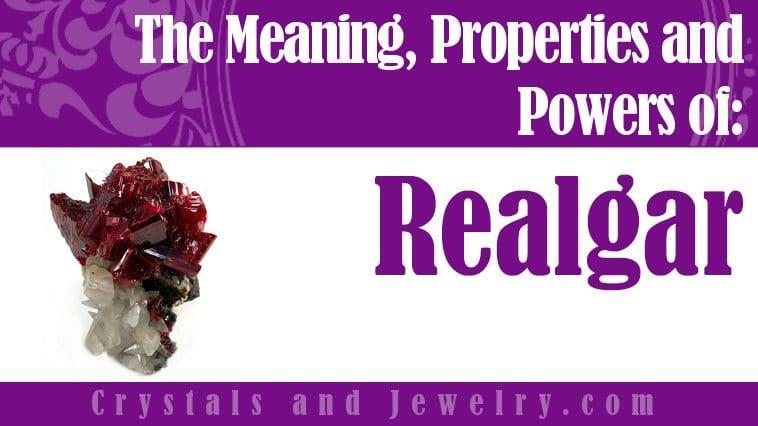Realgar is powerful