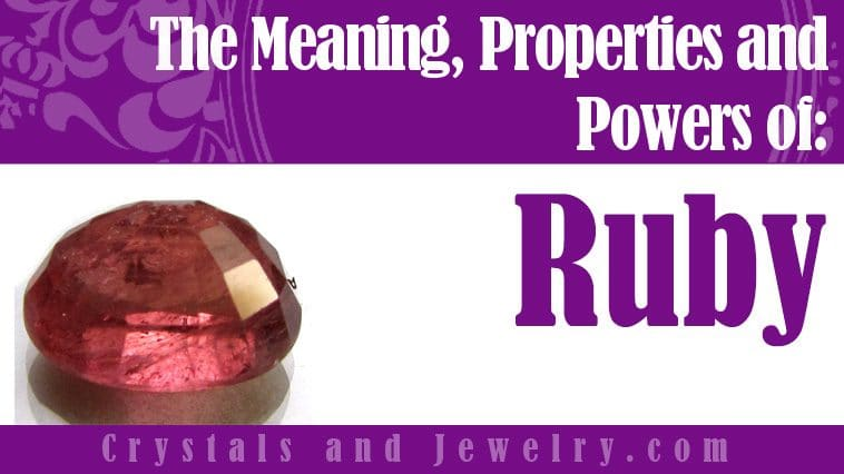 The meaning of Ruby