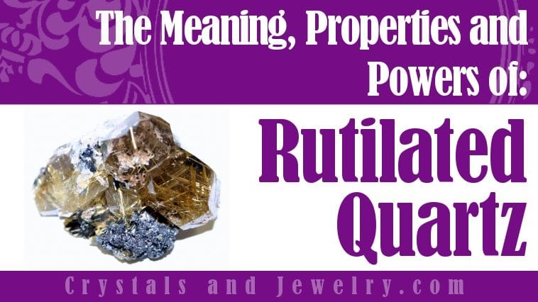 Rutilated Quartz for protection