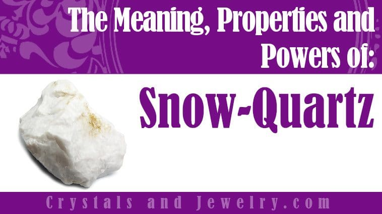 For Good Fortune /& Support whilst Learning Life Lessons Snow Quartz Crystal