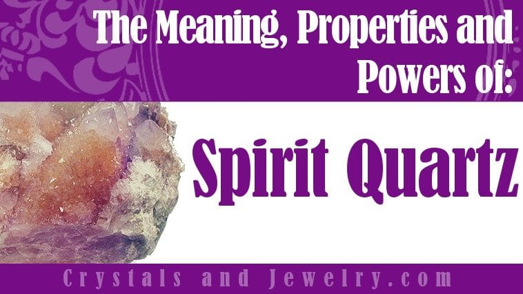 How to use Spirit Quartz?