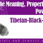 Tibetan Black Quartz for love