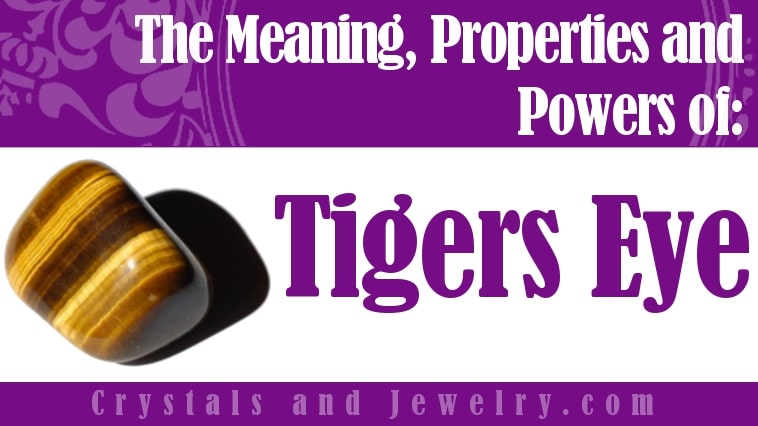 Tigers Eye Is Truly Powerful When Used Correctly Discover