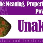 Unakite for luck and wealth