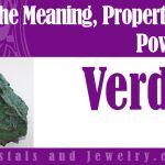 Verdite properties and powers