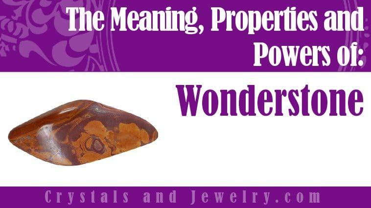 Wonderstone is powerful