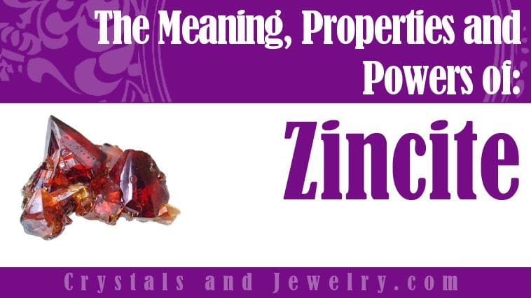 Zincite for luck and wealth