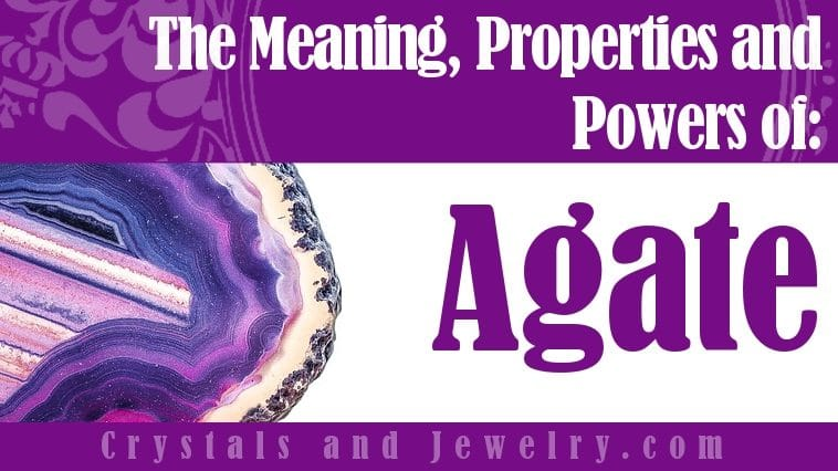 Agate Meaning Properties Powers