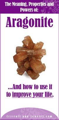aragonite properties meanings and powers