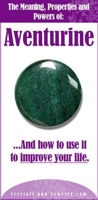aventurine meaning properties and powers