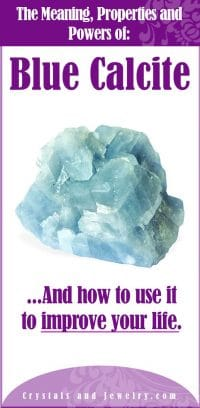 blue calcite meaning