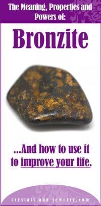bronzite meaning