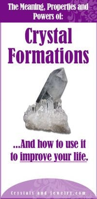 crystal formations meaning