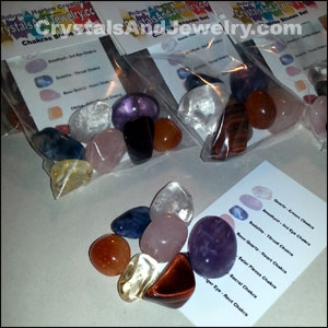 Crystal grids stone sets