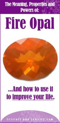 fire opal meaning