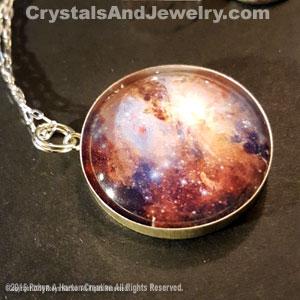 Crystals gemstone necklaces