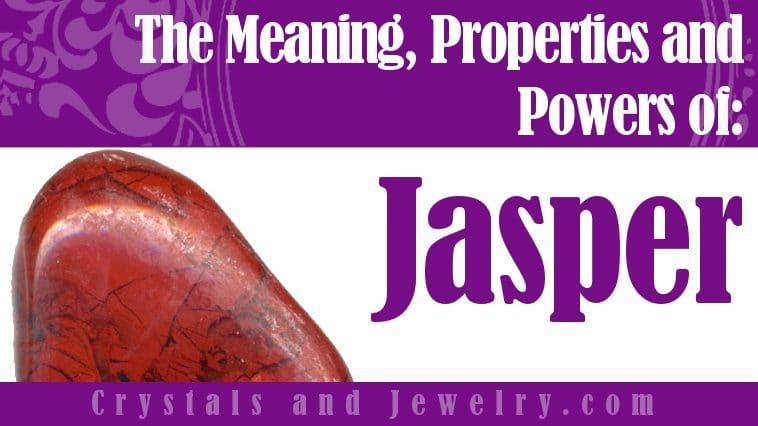 Jasper for protection