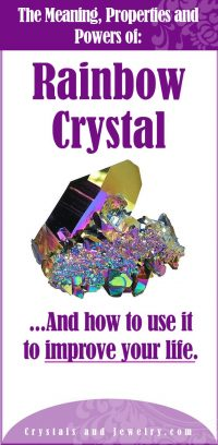 rainbow crystal meaning