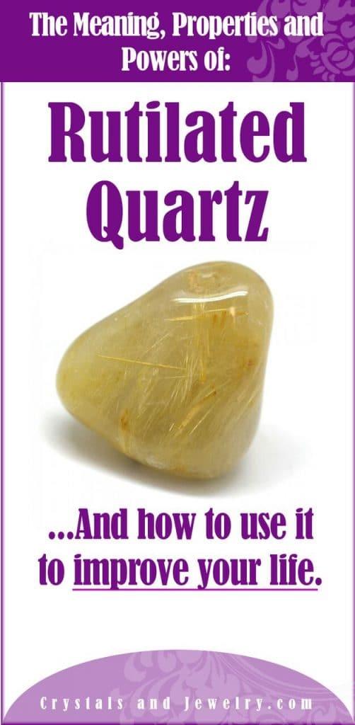 rutilated quartz meanings propetries powers