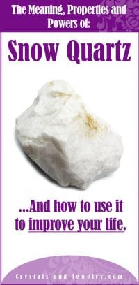 Snow Quartz Meanings Properties And Powers The Complete Guide